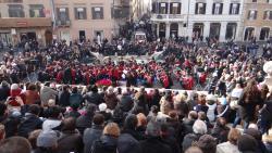 2014 Rome, concert in Piaza Spagna