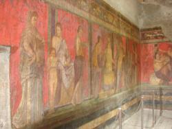2011 Pompei, frescos in Villa of the Mysteries