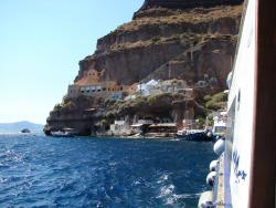 2008 Santorini, a view from the boat