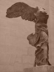 2007 Paris, Victoria de la Samotrace at Louvre