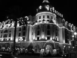 2007 Nice, Hotel Negresco by night