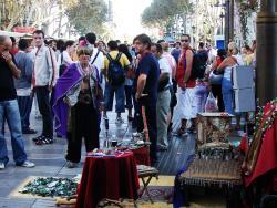 2006 Barcelona La Rambla