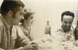 1969, with Jeny and Sandu Pascanu