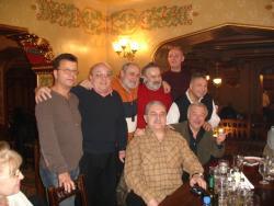 2012, with high school friends at Caru cu bere
