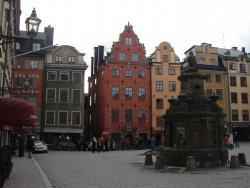 2007 Stockholm, colourful facades