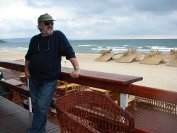 2008 Balcic, on the beach