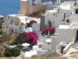 2008 Santorini, beautiful houses