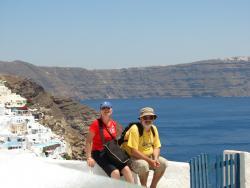 2008 Santorini, with Anca