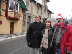 2009 Sinaia, with Tom Willian Olson