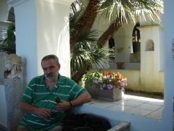 2011 Capri, Cristian in Villa San Michele