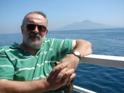 2011 Napoli, Cristian and mount Vesuvius