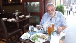 2012 NY, enjoying the meal