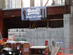 2012 NY, Ground zero