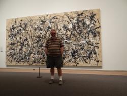 2012 NY, with Jackson Pollock