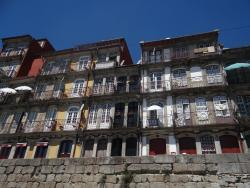 2015 Porto, view of city houses