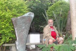 2016 Cornwall, St. Ives,  in Barbara Hepworths garden