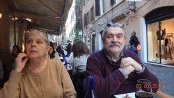 2016 Rome, enjoying the meal